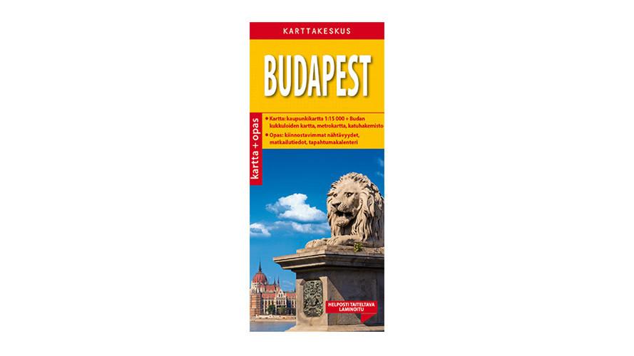 Budapest Kartta Opas Positiivarit Verkkokauppa
