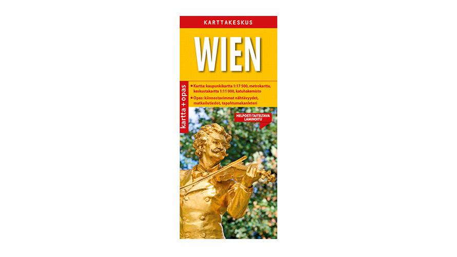 Wien Kartta Opas Positiivarit Verkkokauppa