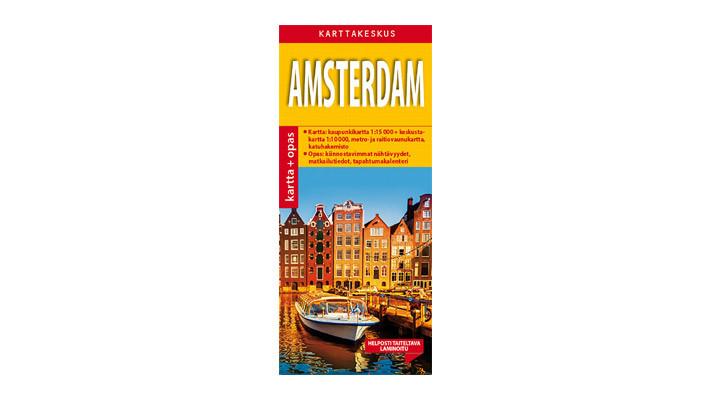 Positiivarit - Amsterdam Kartta & Opas