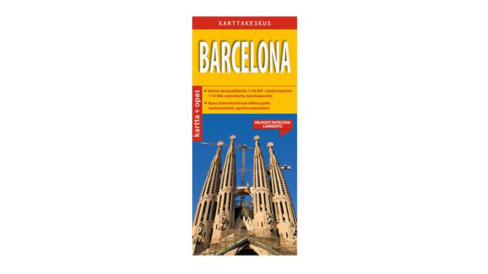 Positiivarit - Barcelona kartta & opas
