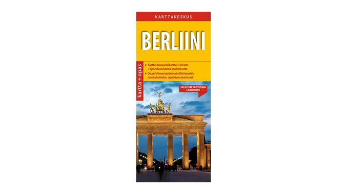 Positiivarit - Berliini kartta & opas