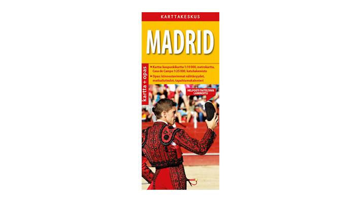Positiivarit - Madrid kartta & opas