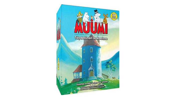 Positiivarit - Muumi - Täydellinen kokoelma 34-DVD Boxi