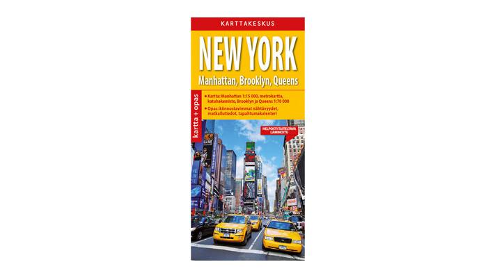 Positiivarit - New York kartta & opas