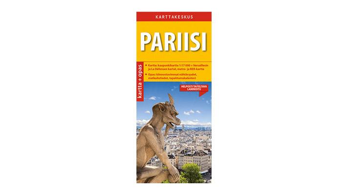 Positiivarit - Pariisi kartta & opas