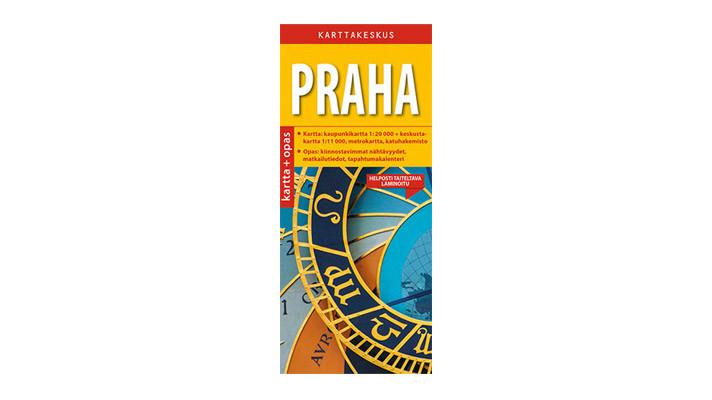 Positiivarit - Praha kartta & opas