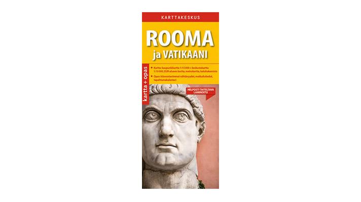 Positiivarit - Rooma ja vatikaani kartta & opas