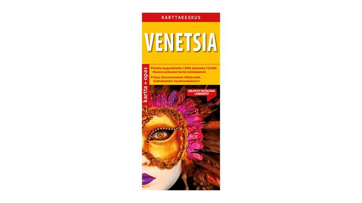 Positiivarit - Venetsia kartta & opas