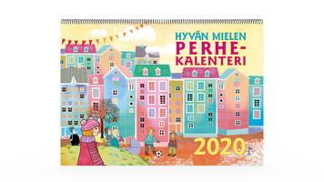 Positiivarit - Hyvän Mielen Perhekalenteri 2020