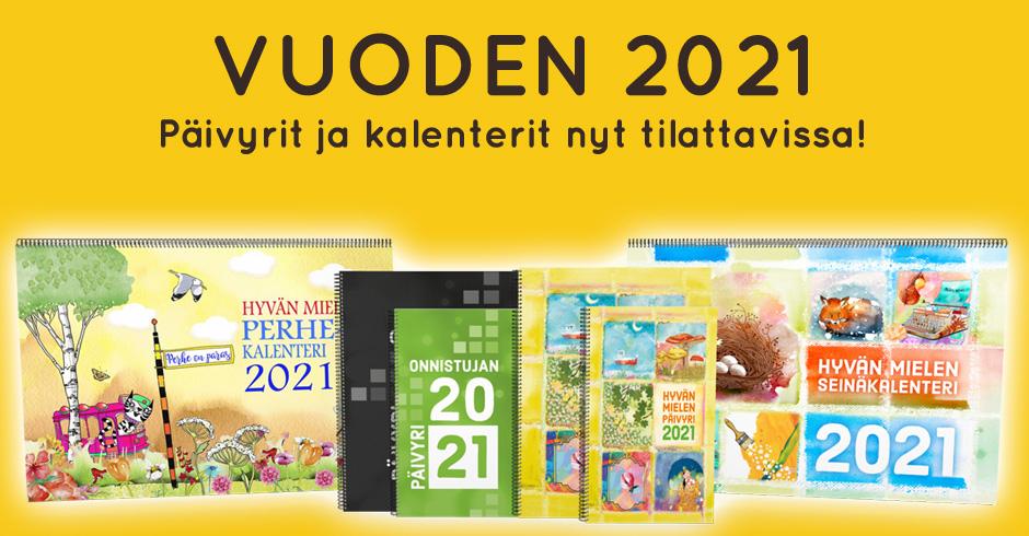 Päivyrit ja kalenterit 2021
